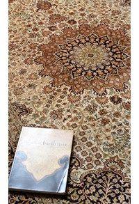 New Silk collection,The Carpet Cellar,Superfine Silk on Silk Kashan<br>TCC-397<br>7.5 Feet X 5....