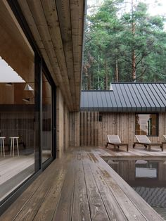 architecture Saint Petersburg, Russian Federation Obserwuj K Architecture Details, Modern Architecture, Weekend House, Forest House, Prefab Homes, House In The Woods, Exterior Design, Future House, Building A House