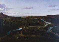 """""""Desembocadura de la ría en el Abra de Bilbao"""", 1857, óleo sobre lienzo, 75 x 102, 5. Obra de Pedro Gonzalvo y Pérez (Zaragoza, 1827 - Madrid, 1896)"""