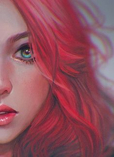 Discover recipes, home ideas, style inspiration and other ideas to try. Digital Art Girl, Digital Portrait, Portrait Art, Girl Cartoon, Cartoon Art, Pretty Art, Cute Art, Anime Art Girl, Cute Drawings