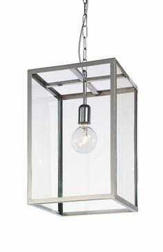 lampa wisząca M 1 x 60W E27 (chrom)