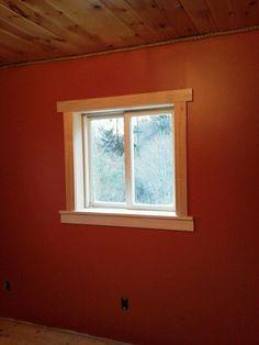 Image result for pine trim vinyl windows | Kansas Street ...