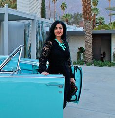 Annalisa Capurro visits Modernism Week in Palm Springs