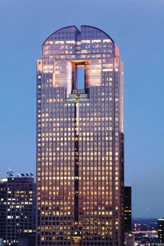 Hines puts Chase Tower in downtown Dallas on the market - Dallas Business Journal