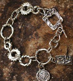 Liebe ist alles Sterlingsilber Armband von Cathy von CathyDailey