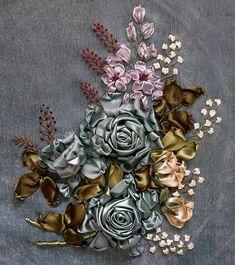 My Silk Ribbon Embroidery by Norehan - Kelopak Gallery (On), via Flickr