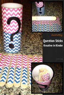 Feeling Crafty:  Question Sticks!