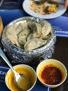 Nepali Food, Bur Dubai, Fried Dumplings, Vegetarian Menu, Food Snapchat, Small Cafe, Roasted Peanuts, Chaat, Kitchens