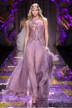 Versace Atelier - The Best Runway Looks From Haute Couture Fall 2015  - HarpersBAZAAR.com
