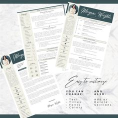 Dont waste your time and get a professional template to update your CV! Professional Resume + Cover letter Template Editable for MS Word English CV with Fonts included in format What is included: Resume Cover Letter Template, Cv Template, Letter Templates, Resume Templates, R Colors, Professional Resume, Good Mood, Lettering, Words