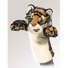 tiger puppet template - folkmanis donkey stage puppet http