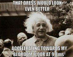 Actual Einstein quote...