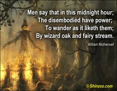 Halloween Quotes 012 -Men say that in this midnight hour