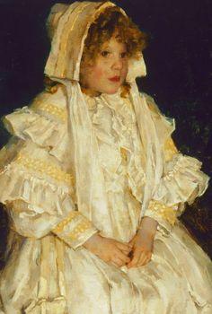 E. Phillips Fox. Detail from Adelaide, 1895.