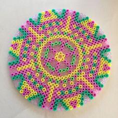 Mandala hama beads by fistermor