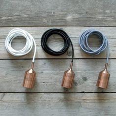 Socket Copper met wire by House Doctor http://www.smukke.pl/pl/p/NAKLADKA-NA-OPRAWKE-ZAROWKI/476