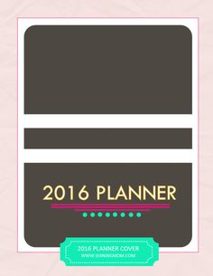 Your FREE 2016 Planner: Chic and Stylish
