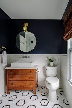 interior decor trends 2019, painted floor tiles, diy tiles, bathroom decor, #tiles #bathroom Interior Design Trends, Diy Interior, Bathroom Interior, Interior Decorating, Design Ideas, Decorating Ideas, Interior Colors, Interior Livingroom, Interior Plants