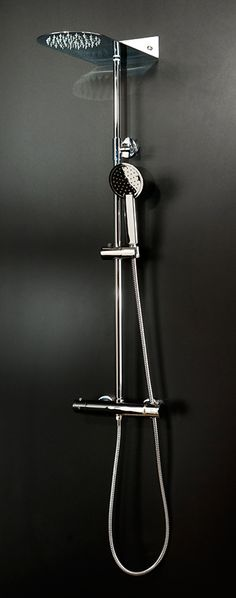 Aquabro Blade Round Head Shower Kit