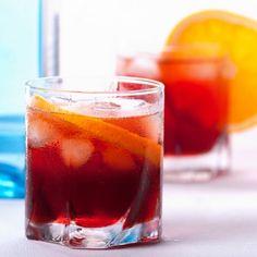 Low Calorie Mezcal Cocktail: Negroni