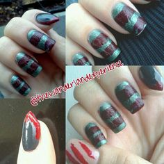 Freddy Kruger nails by five7and2