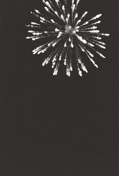 Firework. Photo by Jay Cadayona