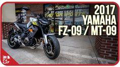 2017 Yamaha FZ-09 / MT-09 | First Ride - YouTube