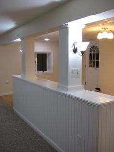 basement apartment ideas | place to house mother, This basement had to become a place A basement ...