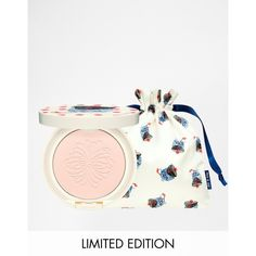 Paul & Joe Limited Edition Cat Protective Pressed Powder (€28) ❤ liked on Polyvore featuring beauty products, makeup, face makeup, face powder, lavendar, cat face makeup, paul & joe, compact face powder and clear face powder