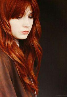 Karen Gillan and her red hair