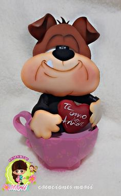 Magic Hands, Pasta Flexible, Minnie Mouse, Valentines Day, Kawaii, Dolls, Disney Characters, Creative, Inspiration