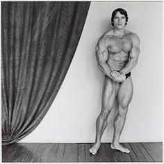Robert Mapplethorpe  Arnold Schwarzenegger 1976, printed 2005