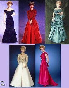 Princess Diana dolls by the Franklin Mint
