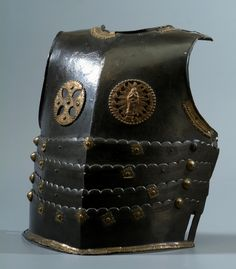 Cuirass from an armor of a Polish Hussar with a Knight Cross and Immaculate Conception by Anonymous from Poland, mid-17th century, Muzeum Lubelskie w Lublinie