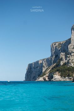 A quick guide to beautiful Sardinia, from A Pair and a Spare
