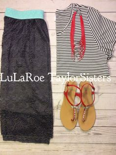 LuLaRoe Lola Skirt and LuLaRoe Randy T. Perfect out fit dress up with some heels or wedges or down with some converse or flip flops! Women's Style Women's fashion Fashion #Lularoe #womensfashion #womensclothes #lubbocktx https://www.facebook.com/groups/lularoetaylorsisters/