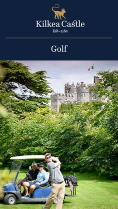 Kilkea Castle offers an 18-hole par 70 championship parkland golf course, developed in a magnificent setting, beneath the shadows of a 12th century Castle. To ensure that every golfer playing has a considered challenge on their hands, the designers skillfully used the River Greese as a natural hazard, flowing through the Castle grounds and estate. The course allows the beauty of the Castle to be viewed from every fairway.