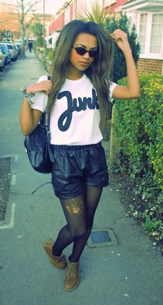 .this isn't typically me but there is something that I like about this outfit