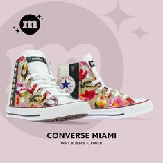 Mom & Baby Collection Converse Chuck Taylor High, Converse High, High Top Sneakers, Chuck Taylors High Top, Mom And Baby, High Tops, Bubbles, Collection, Shoes