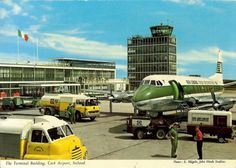 The original John Hinde Collection postcards archive Ireland and John Hinde edition photographs Vintage Trucks, Old Trucks, Fuel Truck, Pompe A Essence, Commercial Plane, Dublin Airport, Old Lorries, Airplane Fighter, Ireland Homes