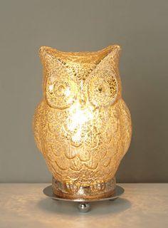 Eroll gold table lamp