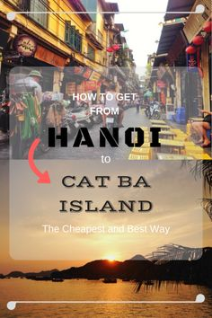Instead of crowded Halong Bay, head over to the equally stunning Lan Ha Bay. Here's the best and cheapest way to get from Hanoi to Cat Ba Island. Laos Vietnam, Visit Vietnam, Vietnam Vacation, Vietnam Travel, Vietnam Tourism, Travel 2017, Asia Travel, Malta, Vietnam Destinations