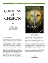 FREE Quintana of Charyn Discussion Guide aligned with #CCSS Speaking and Listening Standards #freebies #fantasyfiction #yalit