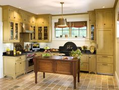 Victorian Kitchens | Victorian Kitchens   Cabinets, Design Ideas, And  Pictures