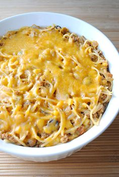 Taco Spaghetti.. this is one of my favorite recipes that i make!!! So good!!