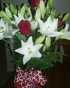 Lilies from my husband! ❤