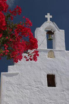 Church in Amorgos Island, Greece Kusadasi, Mykonos, Beautiful World, Beautiful Places, Santorini House, Vacations To Go, Greek Isles, Place Of Worship, Kirchen