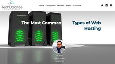 Digging into hosting services, you'll find there are a couple of different types of hosting options available to you. This is where it can get confusing and you can end up going with a more powerful hosting option than you need. So take 5 min to read the review