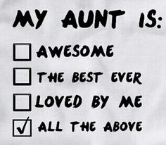 17 Awesome Aunt To Niece Quotes Images Niece Quotes Great Aunt I