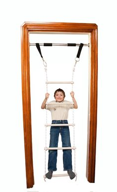 Etonnant Amazon.com: DreamGYM Doorway Gym And Indoor Swing For Children Includes  Chin Up Bar